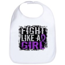 Fight Like a Girl 31.8 Crohn's Disease Bib