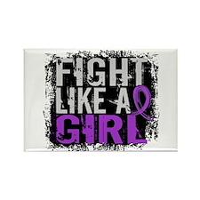 Fight Like a Girl 31.8 Crohn's Disease Rectangle M
