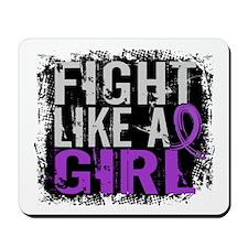 Licensed Fight Like a Girl 31.8 Crohn's Mousepad