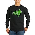 Gecko Power! Long Sleeve Dark T-Shirt