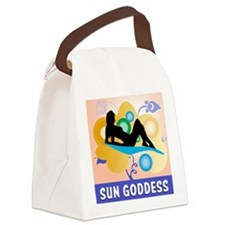 Sun Goddess Canvas Lunch Bag