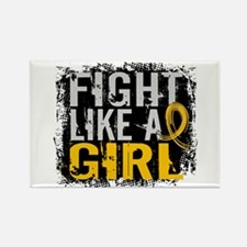 Licensed Fight Like a Girl 31.8 C Rectangle Magnet