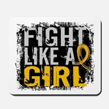 Licensed Fight Like a Girl 31.8 Childhoo Mousepad