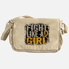 Licensed Fight Like a Girl 31.8 Chil Messenger Bag