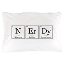 NErDy [Chemical Elements] Pillow Case