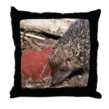 Hedgehog Heart Throw Pillow