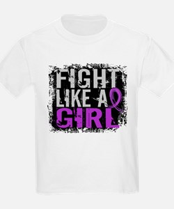 Licensed Fight Like a Girl 31.8 T-Shirt