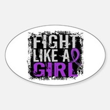 Licensed Fight Like a Girl 31.8 Chi Decal