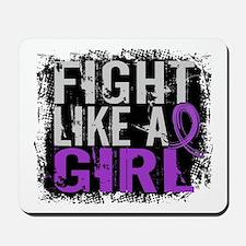 Licensed Fight Like a Girl 31.8 Chiari Mousepad
