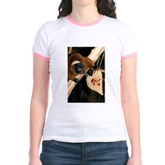 Red Ruffed Lemur with Heart T