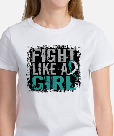 Licensed Fight Like a Girl 31.8 Ce Women's T-Shirt