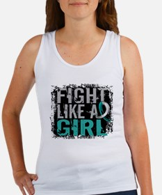 Licensed Fight Like a Girl 31.8 C Women's Tank Top