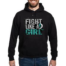 Licensed Fight Like a Girl 31.8 Cerv Hoody