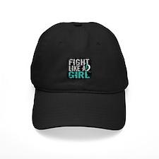 Licensed Fight Like a Girl 31.8 Cervical Baseball Hat