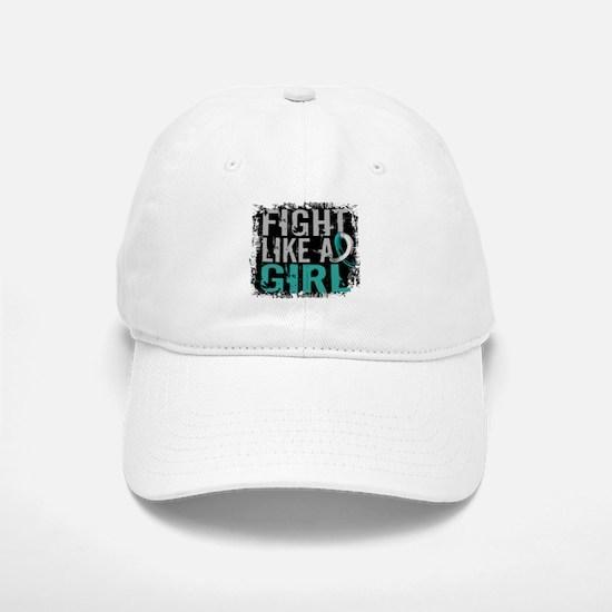 Licensed Fight Like a Girl 31.8 Cervical Cance Hat