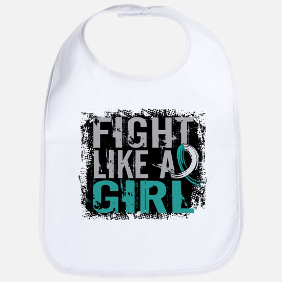 Licensed Fight Like a Girl 31.8 Cervical Cance Bib