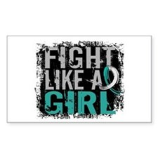Licensed Fight Like a Girl 31. Stickers