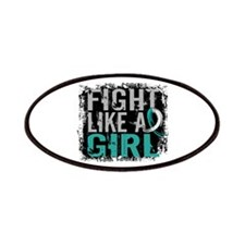Licensed Fight Like a Girl 31.8 Cervical C Patches