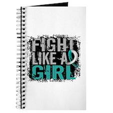 Licensed Fight Like a Girl 31.8 Cervical C Journal