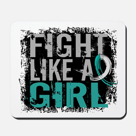 Licensed Fight Like a Girl 31.8 Cervical Mousepad