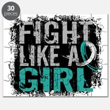 Licensed Fight Like a Girl 31.8 Cervical Ca Puzzle