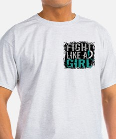 Licensed Fight Like a Girl 31.8 Cerv T-Shirt