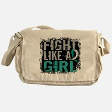 Licensed Fight Like a Girl 31.8 Cerv Messenger Bag