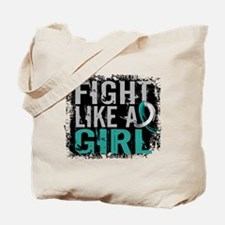 Licensed Fight Like a Girl 31.8 Cervical Tote Bag