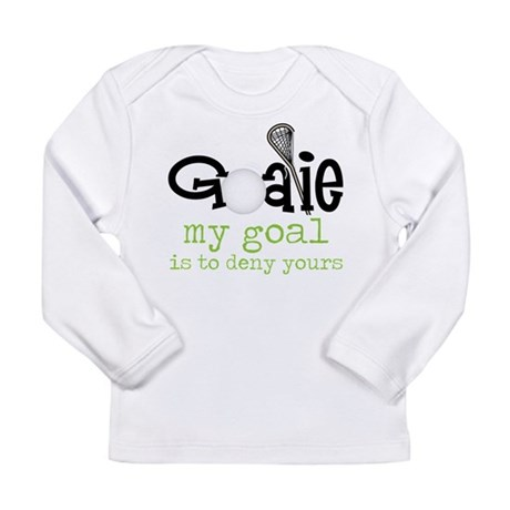 My Goal Long Sleeve Infant T-Shirt