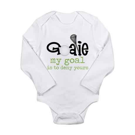 My Goal Long Sleeve Infant Bodysuit