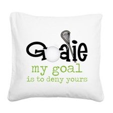 My Goal Square Canvas Pillow