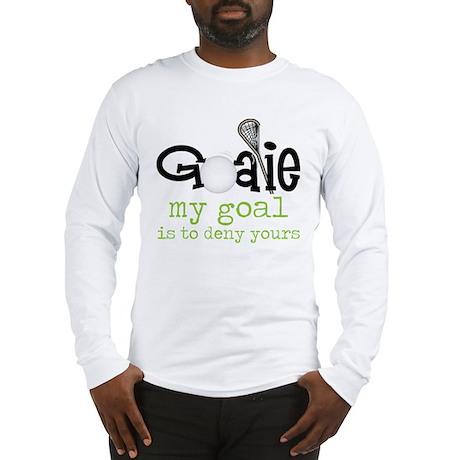 My Goal Long Sleeve T-Shirt