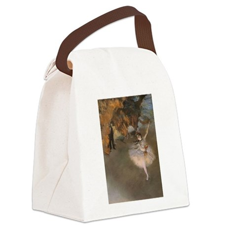 Degas The Star Canvas Lunch Bag