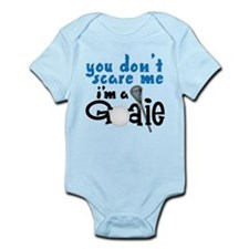 You Don't Scare Me Infant Bodysuit