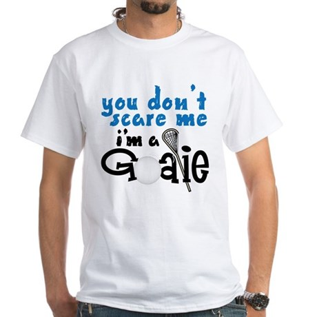 You Don't Scare Me White T-Shirt