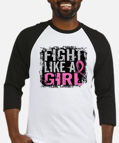 Licensed Fight Like a Girl 31.8 Baseball Jersey