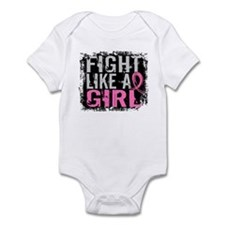 Licensed Fight Like a Girl 31.8 Infant Bodysuit