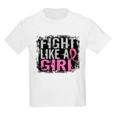 Fight Like a Girl 31.8 Breast Cancer T-Shirt