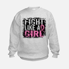 Licensed Fight Like a Girl 31.8 Sweatshirt
