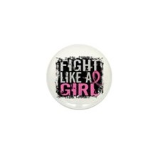 Licensed Fight Like a Girl 31.8 Mini Button
