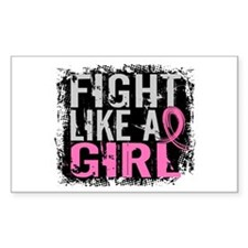 Licensed Fight Like a Girl 31. Decal