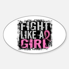 Licensed Fight Like a Girl 31.8 Decal