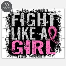 Licensed Fight Like a Girl 31.8 Puzzle