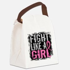 Licensed Fight Like a Girl 31.8 Canvas Lunch Bag