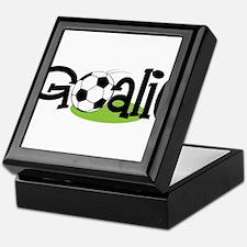 Soccer Goalie Keepsake Box