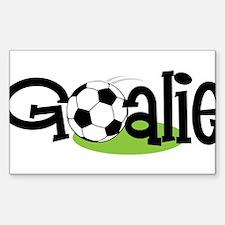 Soccer Goalie Decal