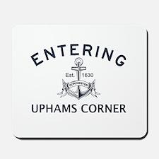 UPHAMS CORNER Mousepad
