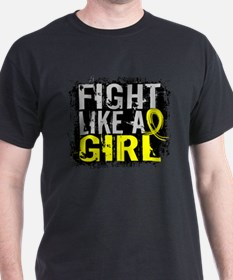 Licensed Fight Like a Girl 31.8 Bladd T-Shirt