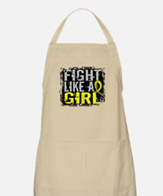 Licensed Fight Like a Girl 31.8 Bladder Canc Apron
