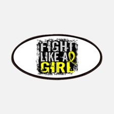 Licensed Fight Like a Girl 31.8 Bladder Ca Patches